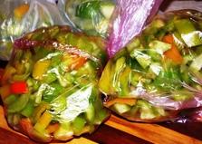 Заморозка болгарского перца на зиму (пошаговый фото рецепт)