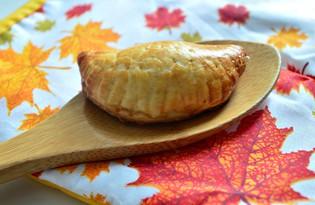 Мини - слойки с яблочным вареньем (пошаговый фото рецепт)