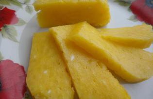 Твердый сыр «по-домашнему» (пошаговый фото рецепт)