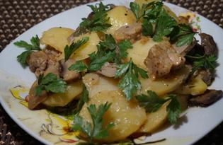 Жаркое с рубленным мясом в мультиварке (пошаговый фото рецепт)