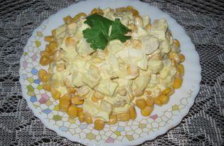Салат из топинамбура (пошаговый фото рецепт)