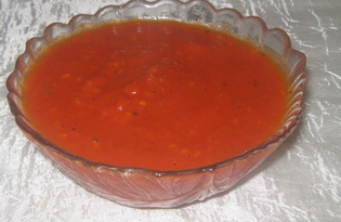 Домашний кетчуп с пряностями (пошаговый фото рецепт)