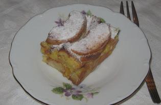 Шарлотка с яблоками без муки (пошаговый фото рецепт)