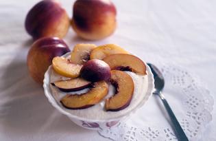 Творожно - фруктовый десерт (пошаговый фото рецепт)