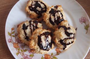 Кокосовое печенье без масла за полчаса (пошаговый фото рецепт)