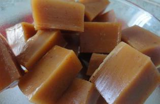 Домашние ириски из меда (пошаговый фото рецепт)