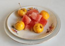 Соленый арбуз в банке (пошаговый фото рецепт)
