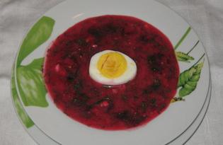 Холодник по-литовски на сыворотке (пошаговый фото рецепт)