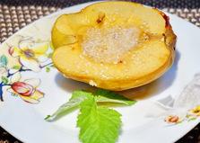 Айва запеченная с медом (пошаговый фото рецепт)