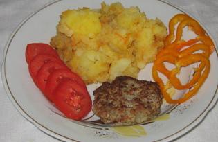 Картофель с зажаркой (пошаговый фото рецепт)