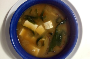 Суп-мисо домашний (пошаговый фото рецепт)