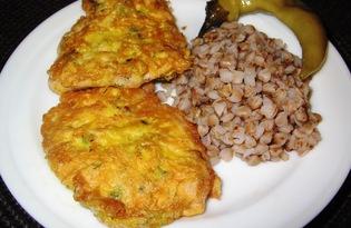 Куриные отбивные в яично - сырном кляре (пошаговый фото рецепт)