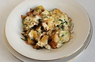Овощное рагу в омлете (пошаговый фото рецепт)