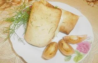 Блины с печенкой (пошаговый фото рецепт)