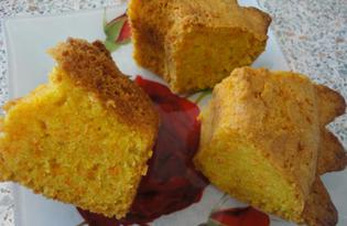 Бразильский морковный кекс (пошаговый фото рецепт)