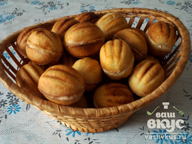 Домашние орешки с вареной сгущенкой рецепт