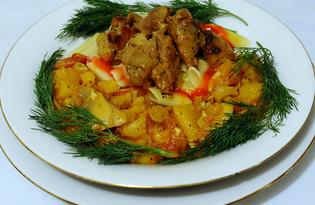 Кролик в горчичном соусе (пошаговый фото рецепт)