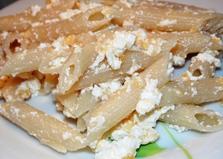 Макароны с сыром и творогом (пошаговый фото рецепт)