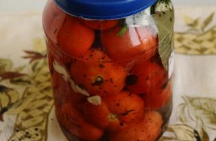Домашний засол помидоров (пошаговый фото рецепт)