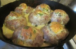 Открытые зразы с сыром и яйцом (пошаговый фото рецепт)
