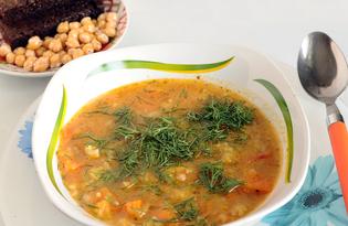 Тыквенный суп с яблоком и рисом (пошаговый фото рецепт)