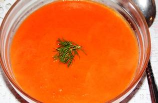 Суп-пюре из болгарского перца (пошаговый фото рецепт)