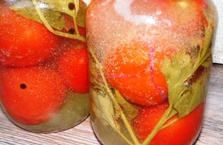 """Маринованные помидоры """"под снегом"""" (пошаговый фото рецепт)"""