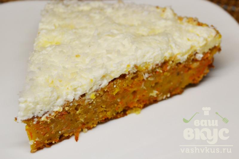 Морковный торт пошаговый рецепт