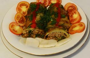 Голубцы «Ассорти» на сковороде (пошаговый фото рецепт)
