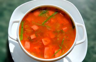Рассольник с колбасой (пошаговый фото рецепт)