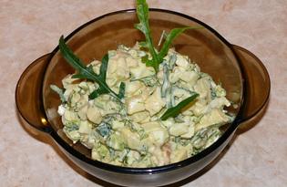 Салат из раков с фруктами и авокадо (пошаговый фото рецепт)