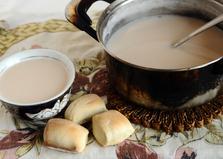 Печенье Борцог и сутэй чай (пошаговый фото рецепт)