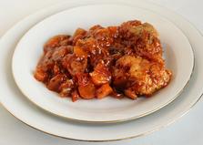 Овощной маринад с рыбой (пошаговый фото рецепт)