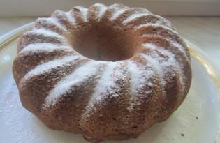 Простой кекс с яблоками (пошаговый фото рецепт)