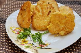Жареная цветная капуста в кляре (пошаговый фото рецепт)