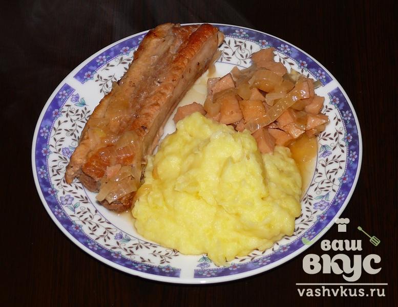 Жареная грудинка свиная рецепт с пошагово