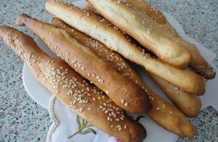 Гриссини – итальянские хлебные палочки (пошаговый фото рецепт)