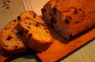 Простой кекс с изюмом (пошаговый фото рецепт)