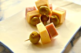 Закуска из бекона и сыра (пошаговый фото рецепт)
