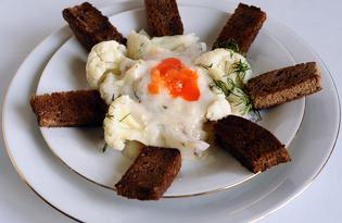 Цветная капуста в молочном соусе (пошаговый фото рецепт)