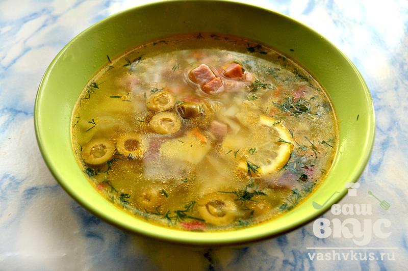 суп капустой рецепты простые фото