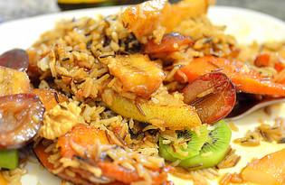 Плов фруктовый (пошаговый фото рецепт)