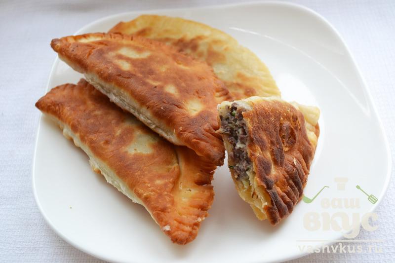 Чебуреки с ливером рецепт пошаговый