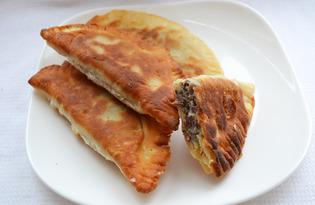 Чебуреки с ливером (пошаговый фото рецепт)