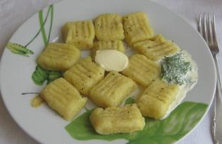 Ньокки с сыром (пошаговый фото рецепт)