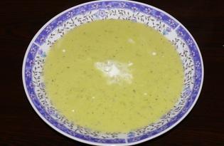 Суп-пюре из зелёного горошка (пошаговый фото рецепт)