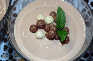 Шоколадно - банановый крем (пошаговый фото рецепт)