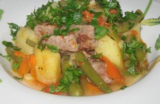 Рагу с овощами и говядиной (пошаговый фото рецепт)