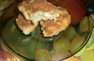 Котлеты внутри с сыром  (пошаговый фото рецепт)