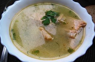 Суп из хребта лосося (пошаговый фото рецепт)